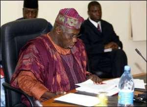 President Kufuor confers national award on President Obasanjo